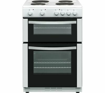ESSENTIALS CFTE60W17 60 cm Electric Solid Plate Cooker - White - Currys