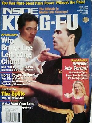 Inside Kung Fu (June 1997) K48325 featuring William Cheung on Wing Chun Special