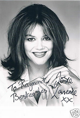 Josie Lawrence Actress Outside Edge Hand Signed Photograph 10 x 8