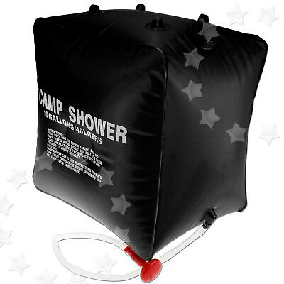 40L Portable Camp Outdoor Hiking Fishing Camping Bath Water Storage Bag Shower