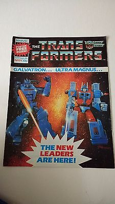 The Transformers Issue 79 UK Comic