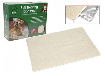 CRUFTS SELF HEATING PET PAD For Dogs Cats Joint Pain