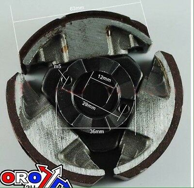 Ktm 50 Clutch assembly 3 shoe sx mini senior junior for water cooled bikes
