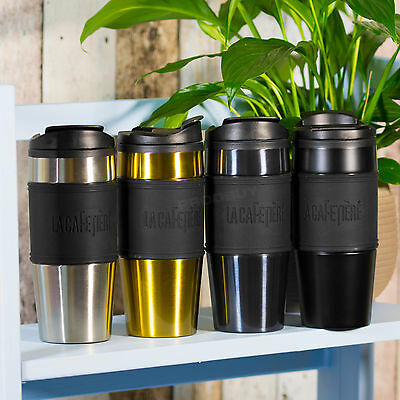 La Cafetiere Double Wall Vacuum Thermal Insulated Travel Mug Coffee Tea Flask