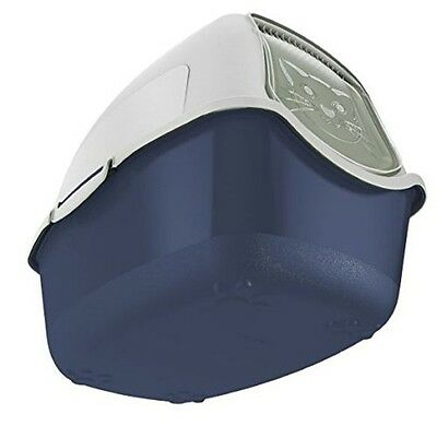 Covered Cat Litter Box Rotho cat litter box with cover and door easy to clean