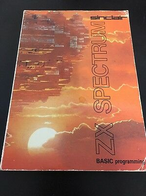 Sinclair Zx Spectrum Basic Programming Book Manual ( Not Ring Bound Release )