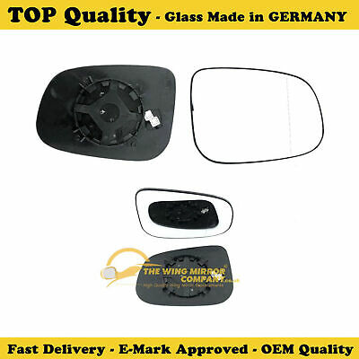 Right side for Jaguar S Type 1999-2009 Wide Angle heated wing door mirror glass