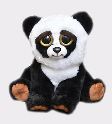 Feisty Pets Black Belt Bobby Panda Stuffed Scary Animal Plush Toy FP-PANDA