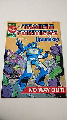The Transformers Issue 185 UK Comic