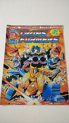 The Transformers Issue 200 UK Comic