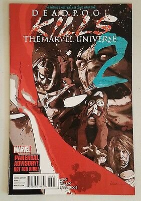 Deadpool kills the marvel universe #2 NM - Rare HTF - Hot!