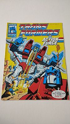 The Transformers Issue 209 UK Comic