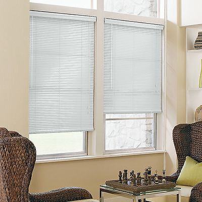 "1"" Aluminum Mini Blinds- Many Colors & Sizes  - Free Shipping"