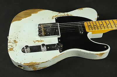 Fender Custom Shop 1952 Heavy Relic Telecaster - Sonic Blue (980)