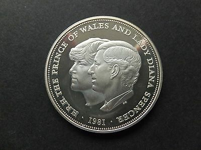 1981 Charles And Diana Crown .925 Silver No Box (59059)