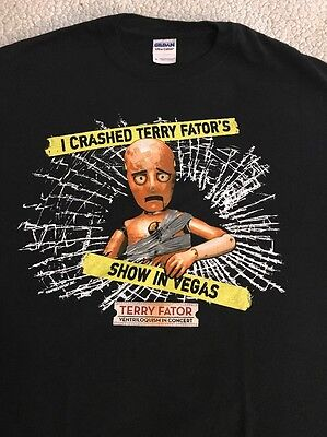 Terry Fator Las Vegas Mirage T-Shirt Medium EUC