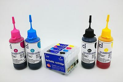 Refillable Ink Cartridge Kits for Epson WorkForce WF-2750DWF WF2750 16XL NON OEM