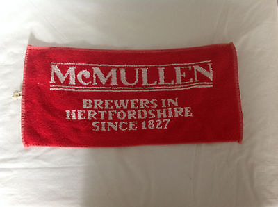 McMullen Brewers In Hertfordshire Since 1827 Bar Towel