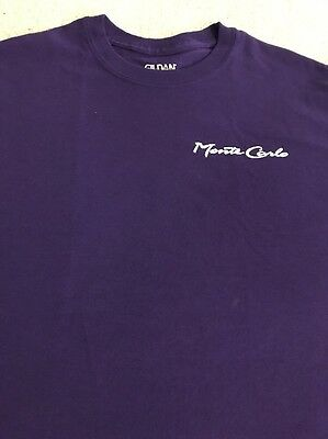 Monte Carlo Hotel & Casino Las Vegas T-Shirt Medium New