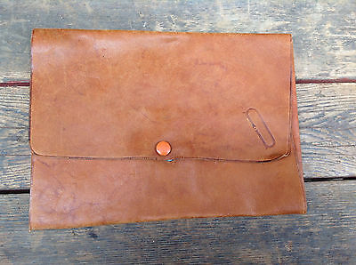 Very Cool Soft  Leather Music/Document  Scroll Carrier - Embossed