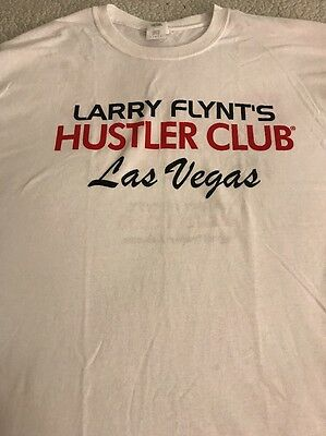 Larry Flynt's Hustler Club Las Vegas T-Shirt  Large New