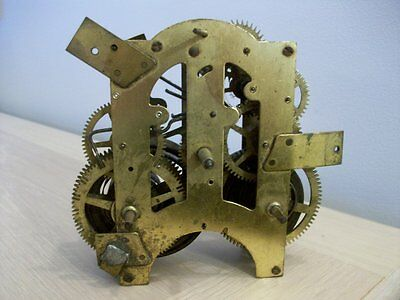 AN EARLY CLOCK MOVEMENT.  BY ANSONIA CLOCK Co  NEW YORK