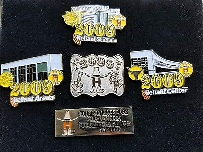 Houston Livestock Show & Rodeo 2009 Annual Pin Set 33/1000