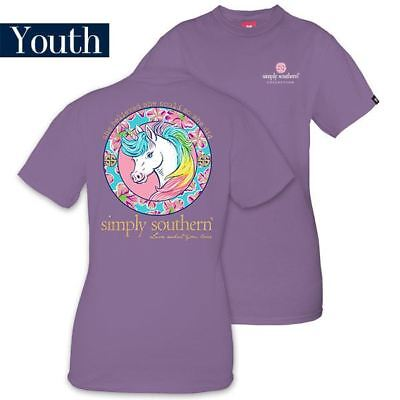 Youth Unicorn She Believed She Could So She Did Simply Southern Cotton Tee