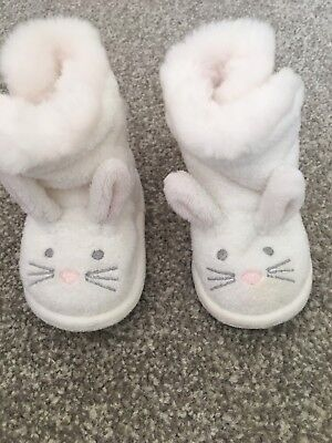 The White Company Baby Slippers