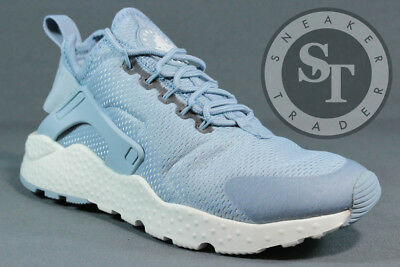Nike Women s Air Huarache Run Ultra 819151-402 Blue Grey Summit White Sz   5.5 95e4df9866