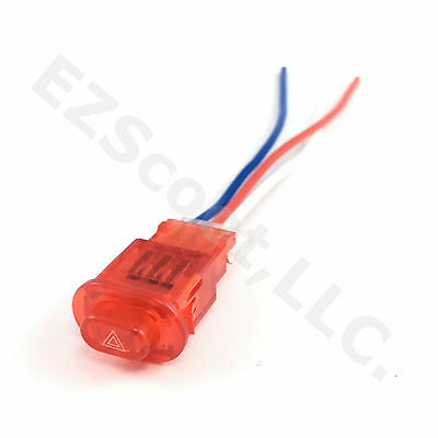 Hazard Light Switch Cable Wire Adapter Gy6 Scooter Atv Tank Vip Peace Yiben Jcl