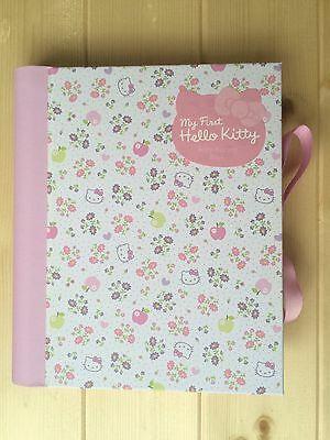 New Adorable Hello Kitty Baby Record Book Rrp £18.00 Memory Keepsake Journal