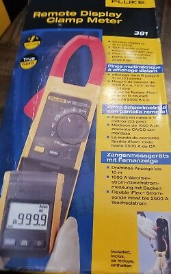 Fluke 381 Remote Display True-RMS AC/DC Clamp Meter With IFlex New
