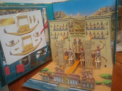 Ancient Egyptian Game The Complete Guide Illustrated Book Fold Down Temple