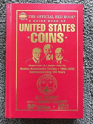 2011 Red Book Special Edition Boston Numismatic Society United States Coins