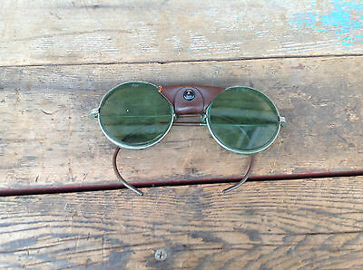 Cool Vintage AO American Optical green Lens Safety Glasses