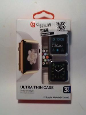 Griffin 3 Pack Ultra Thin Protective Cases for Apple Watch 42mm FREE SHIPPING