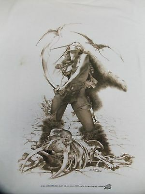 Dragon Blade X-Large Shirt By Arantza From Comic Images 2000 ~Rare! ~Last One!