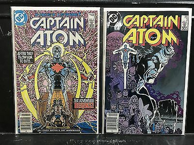 Lot of 2 Captain Atom #1 2 (1987 DC) Combined Shipping Deal!
