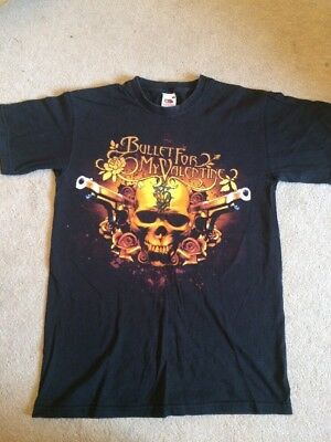 Bullet For My Valentine 2006 European Tour Rare Tshirt Small