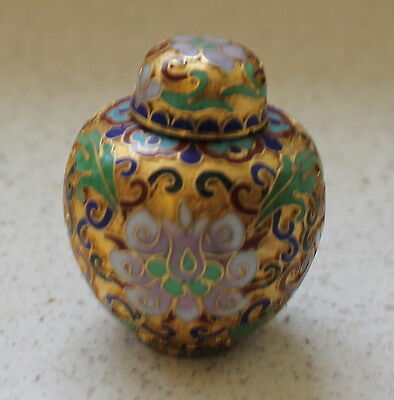 Cloisonne Ginger Jar Shape