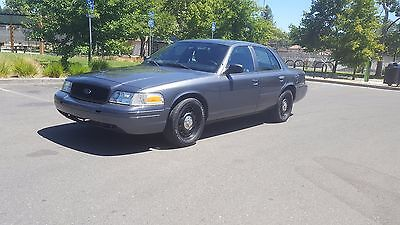 2011 Ford Crown Victoria police interceptor 2011 ford crown victoria Police interceptor 3.55 posi Traction control p71