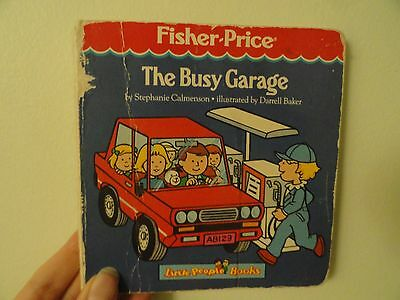 Fisher Price Board Book: The Busy Garage