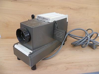 Vintage Old Bell & Howell Movie Slide Projector (G70)