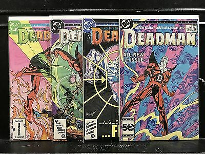 COMPLETE Deadman #1 2 3 4 (1986 DC) Combined Shipping Deal!