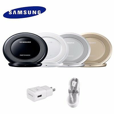 OEM Samsung Qi Wireless Fast Charger Stand For Galaxy S7 S6 Edge Note 5