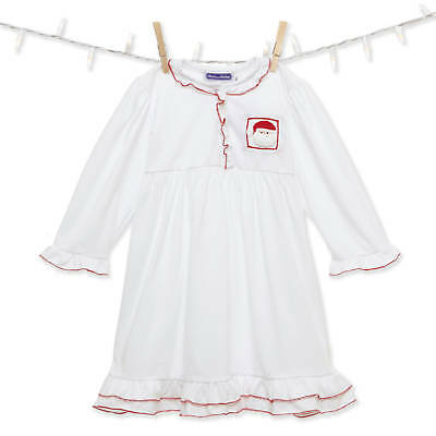Smocked Santa Night Gown NEW *girl boutique *