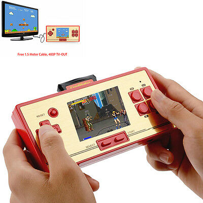 Classic Retro FC Pocket Player Children Handheld Game Console Built-in 600 Games