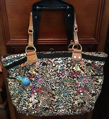 AUTHENTIC Tokidoki Leo Large Shoulder Bag/Diaper Bag COMPLETE and CLEAN