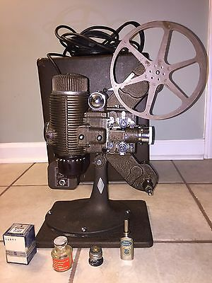 Antique Vintage Bell & Howell Filmo Master  Movie Projector 16mm Tested Works